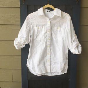 Ralph Lauren white top size M.